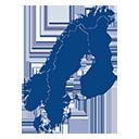 Skandinavien tumblir-icon