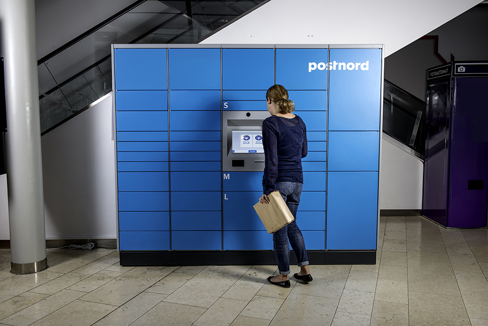 3c246724 PostNord: Our pick up-lockers are a Nordic pilot ...