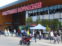 Charlottenberg shopping centre.
