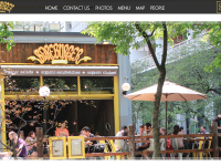 Bareburger.com screenshot.