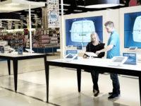 Bilka Tilst - bilka.dk Kundeområde i Bilka, hvor det er muligt at bestille varer på bilka.dk og få hjælp fra varehusets medarbejdere. Foto: Claus Sjödin  / CSPress.dk