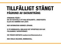 Temporary shutdown on hemmakvall.se