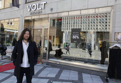 Toni Collin, Nordic manager for Volt.