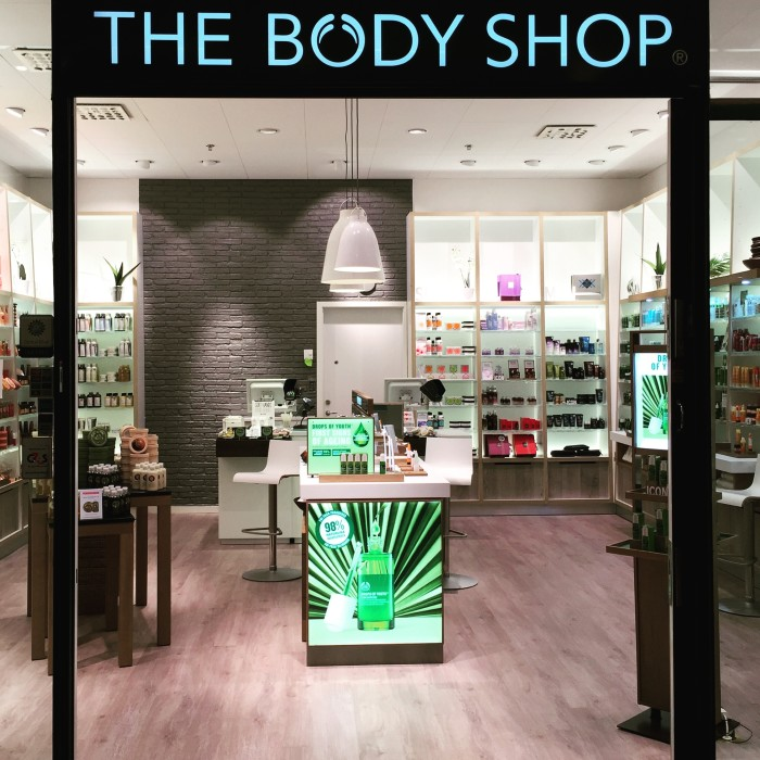 body shop mall of scandinavia
