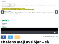 Expressen's economy site.