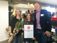 In picture: Carina Wacker marketing assistant, Åse Balko marketing coordinator and Stefan Aronsson CEO.